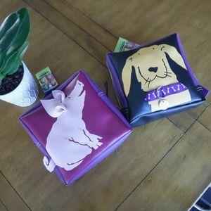 NEW Bundle of kids mini animal backpacks Pig & Dog